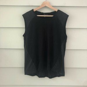 MNG, Mango Casual Black  T-shirt with S